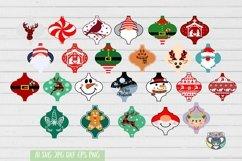 Christmas svg, Santa svg, Red Cardinal, Gnomes svg, Reindeer Product Image 6
