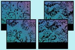 Flourish Silhouette Glitter Snapshot Backgrounds - 10 Images Product Image 4