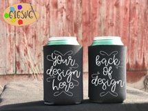 Can Cooler Mockup Bundle 33 Color Choices Product Image 2