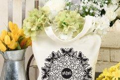 Mom mandala, SVG, mother's day mandala Product Image 2