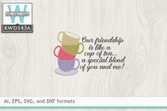 Tea SVG - Like A Cup Of Tea Product Image 2