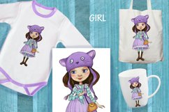 cartoon girls prints Product Image 2