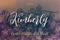 Kimberly Script Font Product Image 1