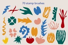 Matisse cutout procreate stamp brushes Product Image 6