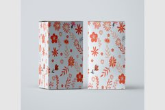 10 Floral Seamless Patterns Collection Product Image 7