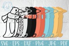3D Winter Penguin, Layered Penguin SVG, Papercut Penguin DXF Product Image 2