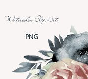 Bride watercolor heart clipart Product Image 4