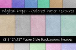 Digital Scrapbook Kraft Paper - Digital Paper Textures Product Image 1