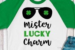Mister Lucky Charm Svg, St Patricks Day Svg, Baby Boy Svg Product Image 1