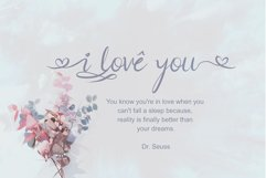 The Brownies | Romantic Love Font Product Image 2
