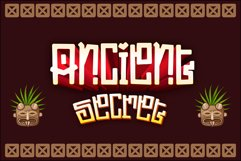 ETHNIQUE - Gaming Font Product Image 6