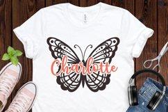 Butterfly SVG Bundle, butterflies svg, swirl svg, mandala Product Image 2