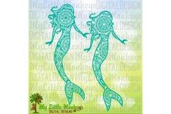 Mermaid Mandala Design Product Image 1