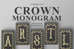 Crown Monogram Product Image 1
