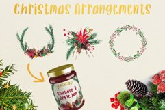 Very Merry Christmas Watercolor Clip Art Pack! Product Image 2
