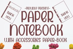 PAPER NOTEBOOK Product Image 1