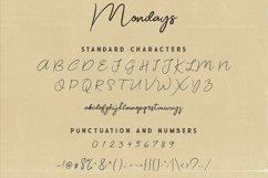 Mondays Script Font Product Image 6
