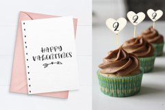 Lovey cute valentines heart font family Product Image 2