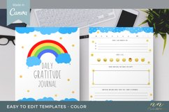 Kids Gratitude Journal Canva Template for Printable Products Product Image 5