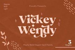 Vickey Modern Vintage Typeface Product Image 1