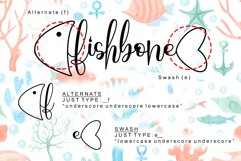 Fishbone - Modern Calligraphy Font Product Image 6