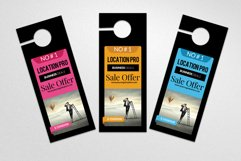 Business Solution Door Hangers Product Image 3
