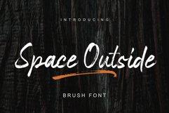 Space Outside Handbrush Font Product Image 1