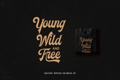Voltury 4 fonts with extras Product Image 6