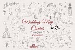 Hand drawn Wedding Map Creator Product Image 1
