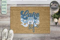Lake Life SVG   Summer   Retro Shirt   Sublimation Product Image 3