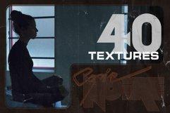 COPIE NOIRE Black Printed Paper Textures Product Image 4