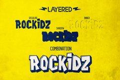 Rockidz // Layered Font Family Product Image 3