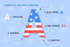 The USA Font Family Product Image 2