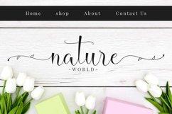 Hello Daisy - Flower Script Font Product Image 4