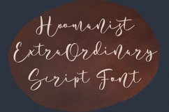 Hoomanist Natural Handwritten Font Product Image 6