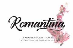 Romantina Font Product Image 5