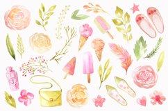 Summer Watercolor Floral BUNDLE Product Image 5