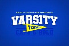 Varsity Team Sports Font Product Image 1