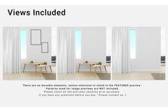 Living Room Curtain Mockup Set Product Image 5
