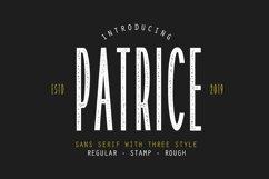 Patrice - Sans Serif Font Product Image 1