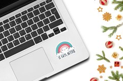 Laptop Sticker Mockup | 1 PSD with 5 JPG images Product Image 3