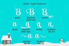 Christmas and Santona | A Beautiful Chirstmas Script Font Product Image 4