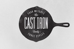 Cast Iron Family - Font Product Image 4