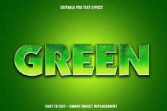 green leaf text effect Product Image 1