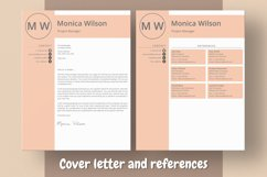 Minimalist CV Template for Ms Word Product Image 4