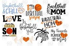 Basketball Bundle 2 SVG, DXF, AI, EPS, PNG, JPEG Product Image 2