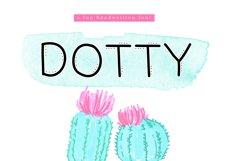 Dotty - A Fun Handwritten Font Product Image 1