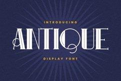 ANTIQUE Font Product Image 1