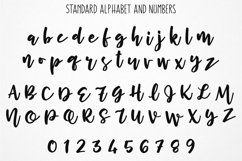 Cherry Cordial: standard alphabet and numbers