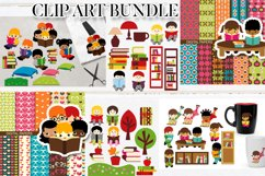 Kids clip art - Graphics and Illustrations Huge Bundle Product Image 6